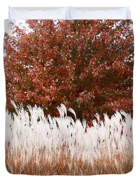 M Landscapes Fall Collection No. Lf46 Duvet Cover