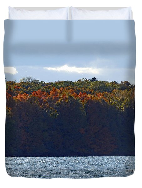 M Landscapes Fall Collection No. Lf50 Duvet Cover