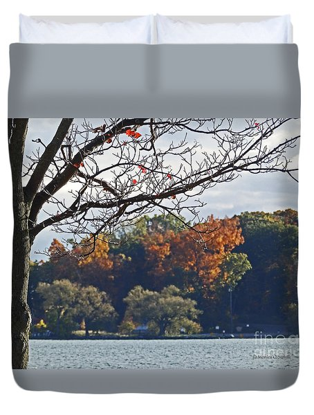 M Landscapes Fall Collection No. Lf51 Duvet Cover