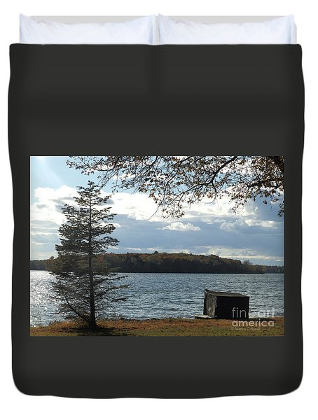 M Landscapes Fall Collection No. Lf52 Duvet Cover