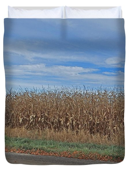 M Landscapes Fall Collection No. Lf58 Duvet Cover