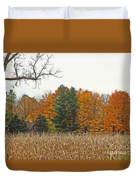 M Landscapes Fall Collection No. Lf60 Duvet Cover