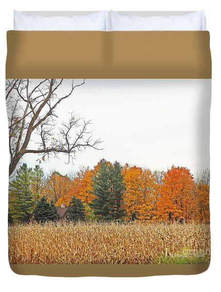 M Landscapes Fall Collection No. Lf61 Duvet Cover