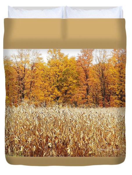 M Landscapes Fall Collection No. Lf62 Duvet Cover