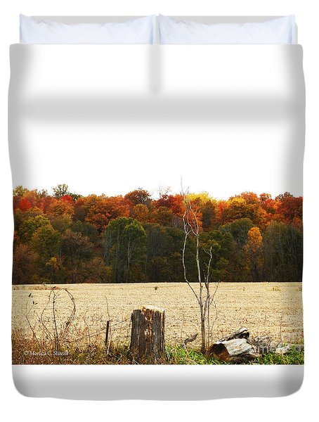M Landscapes Fall Collection No. Lf66 Duvet Cover