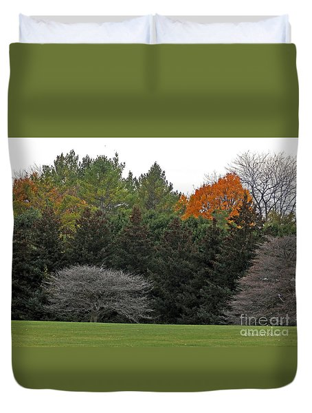 M Landscapes Fall Collection No. Lf67 Duvet Cover