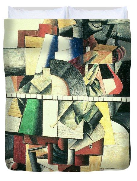 M Matuischin Duvet Cover by Kazimir Severinovich Malevich
