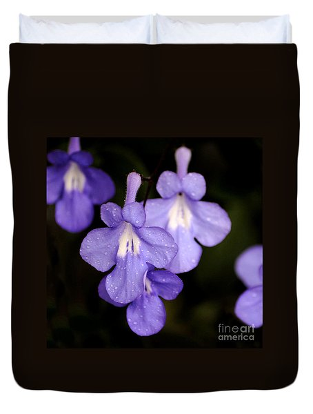 Duvet Cover featuring the photograph M10 by Leo Symon