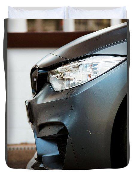 M4 Gts Profile Duvet Cover