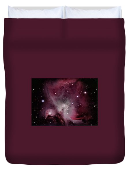 M42 Orion Nebula Duvet Cover
