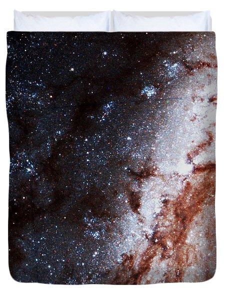 M51 Hubble Legacy Archive Duvet Cover