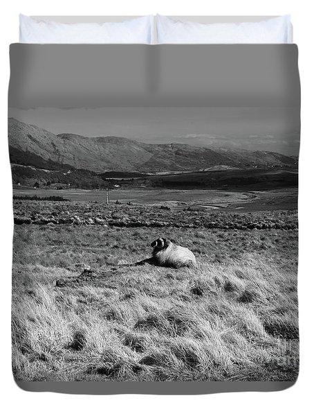 Maam Valley Duvet Cover