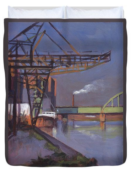 Maastricht Industry Duvet Cover by Nop Briex