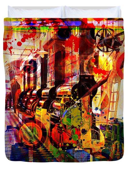 Machine Age-1 Duvet Cover