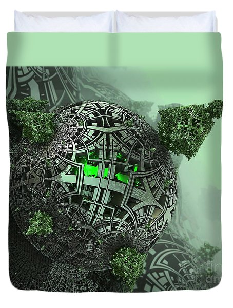 Machine Life Duvet Cover
