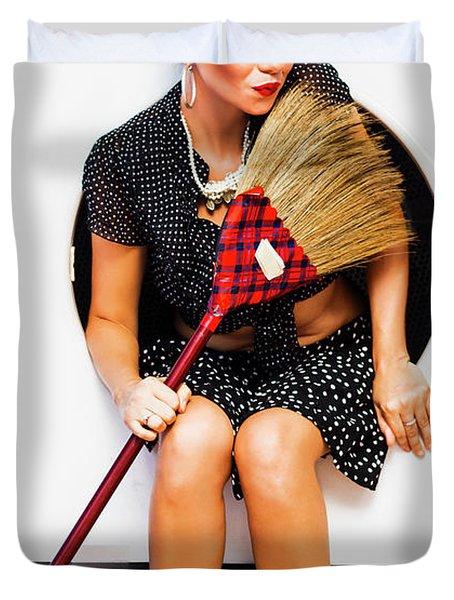 Machine Wash Housewife Duvet Cover