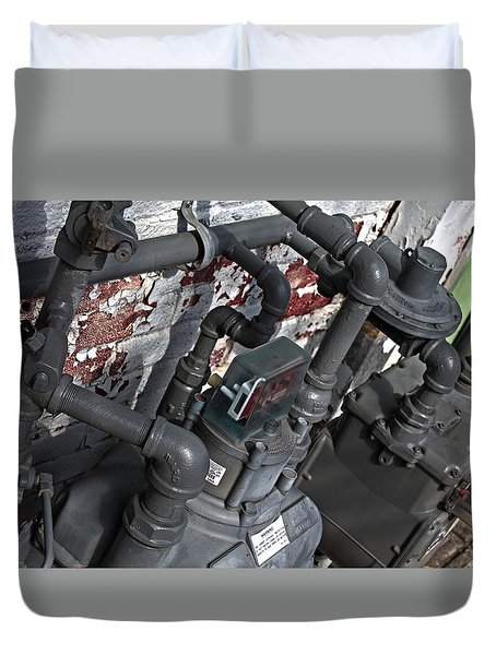 Machinery Duvet Cover