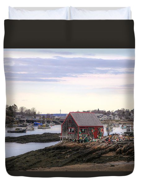 Mackerel Cove Duvet Cover