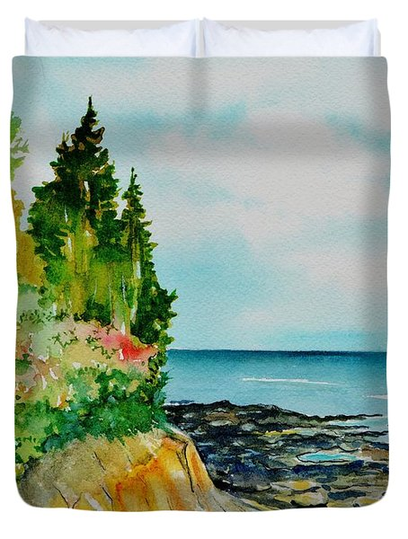 Mackworth Island Maine  Duvet Cover