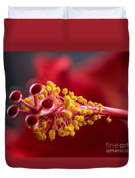 Macro Flower Duvet Cover