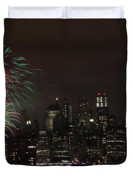 Macy's July 4th 2015 Fireworks-1 Duvet Cover