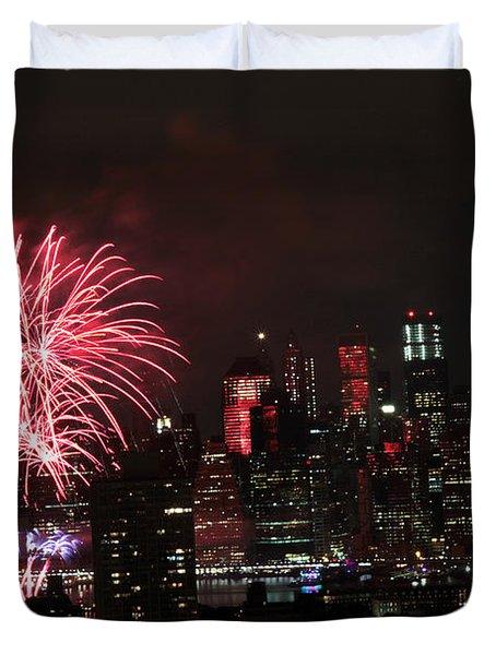 Macy's July 4th 2015 Fireworks-2 Duvet Cover