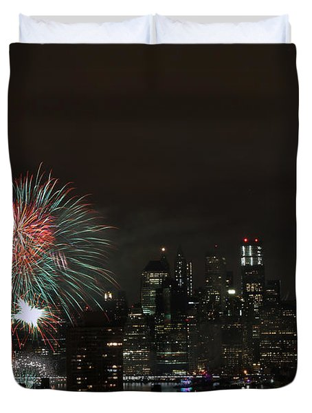 Macy's-july 4th 2015-fireworks-3 Duvet Cover