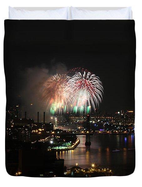 Macy's July 4th 2015 Fireworks-4 Duvet Cover