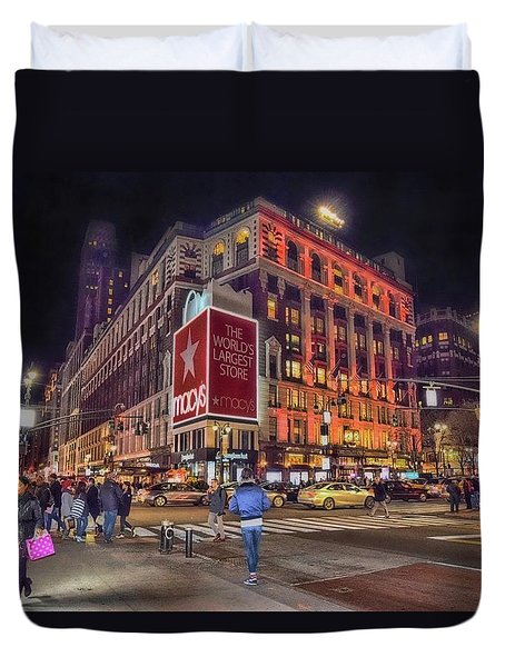 Macy's Of New York Duvet Cover