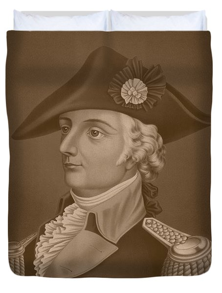 Mad Anthony Wayne Duvet Cover by War Is Hell Store