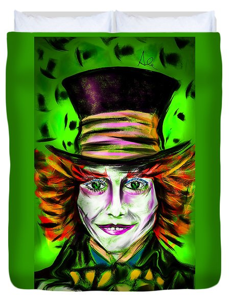 Mad Hatter Duvet Cover