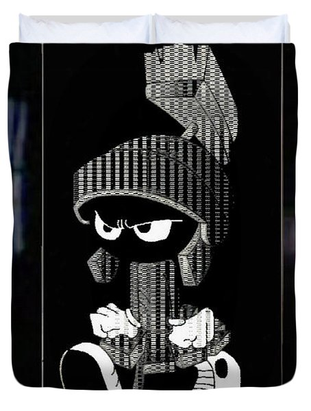 Mad Marvin Duvet Cover