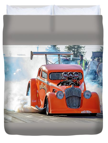 Mad Mike Racing Duvet Cover
