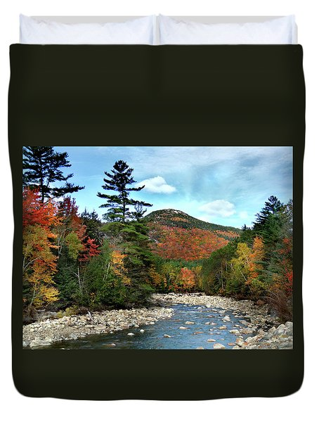 Mad River By Welch And Dickey  Duvet Cover