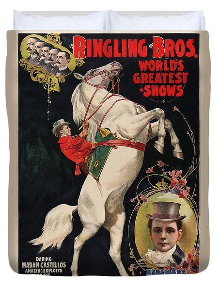 Madam Ada Castello Poster 1899 Duvet Cover