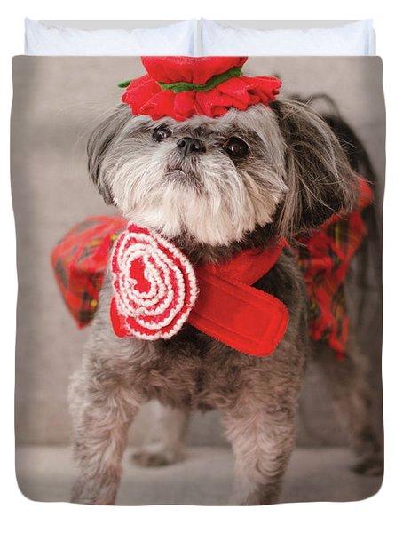 Madam Scarlett In All Red Duvet Cover