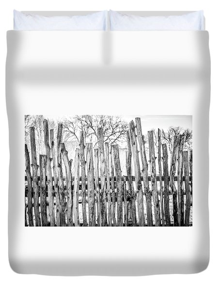 Duvet Cover featuring the photograph Made From Nature by Marilyn Hunt
