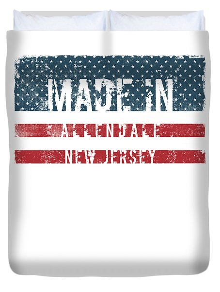 Made In Allendale, New Jersey Duvet Cover by Tinto Designs