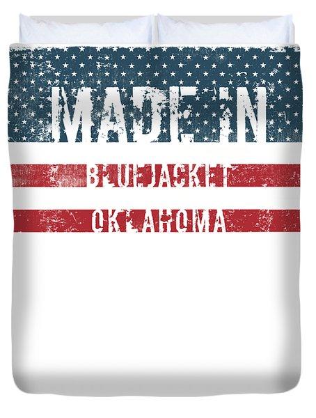 Made In Bluejacket, Oklahoma Duvet Cover