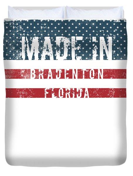 Made In Bradenton, Florida Duvet Cover