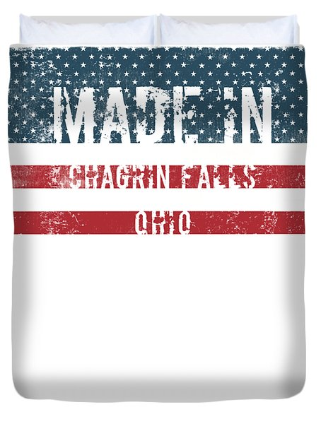 Made In Chagrin Falls, Ohio Duvet Cover