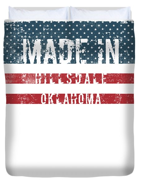 Made In Hillsdale, Oklahoma Duvet Cover