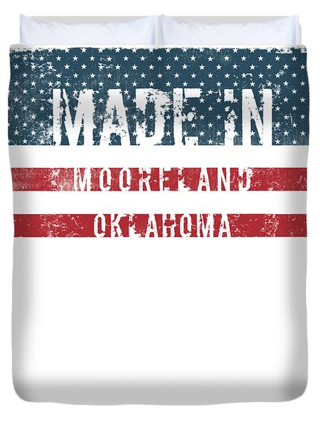 Made In Mooreland, Oklahoma Duvet Cover