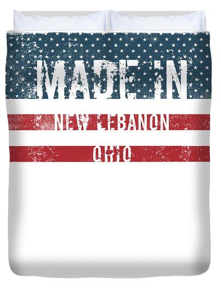 Made In New Lebanon, Ohio Duvet Cover