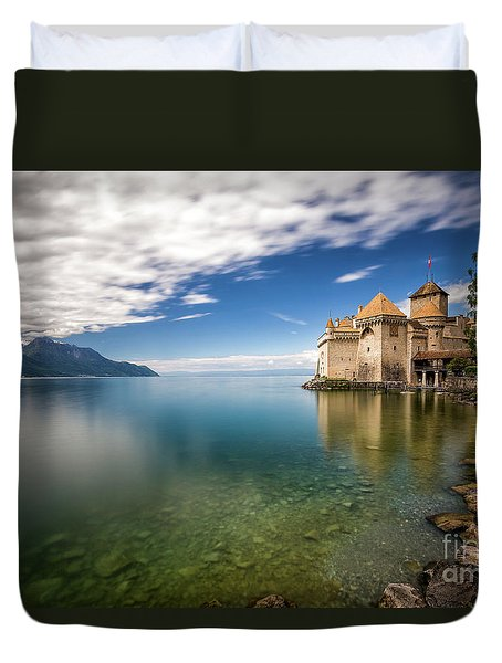 Made In Switzerland Duvet Cover by Giuseppe Torre