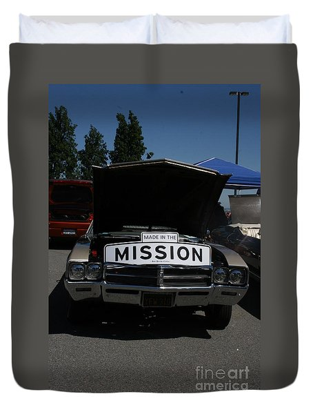 Made In The Mission Duvet Cover
