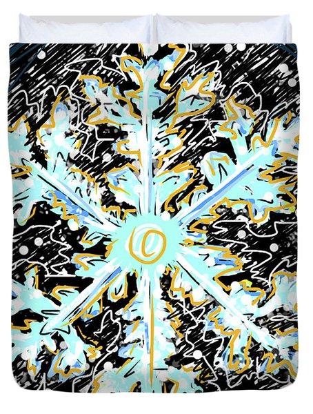 Madeline Snowflake Duvet Cover