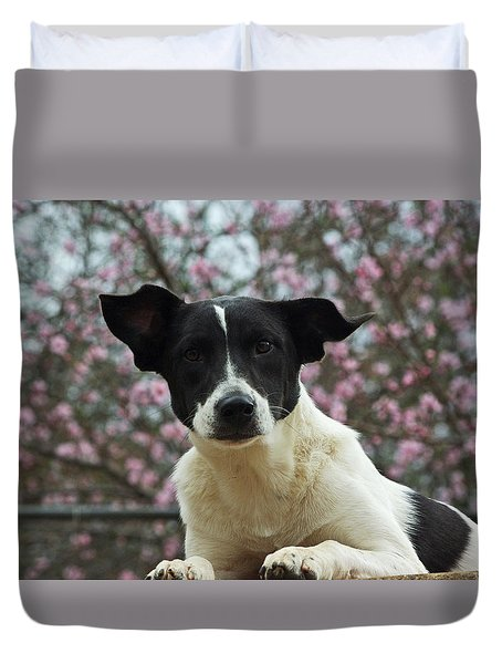 Madison In Spring Duvet Cover