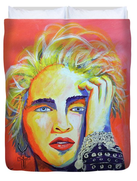 Madonna Duvet Cover