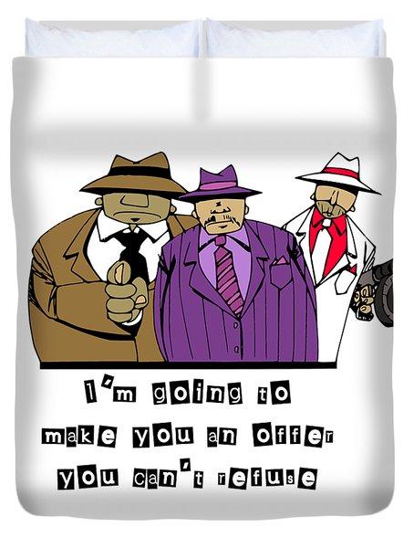 Mafia Duvet Cover